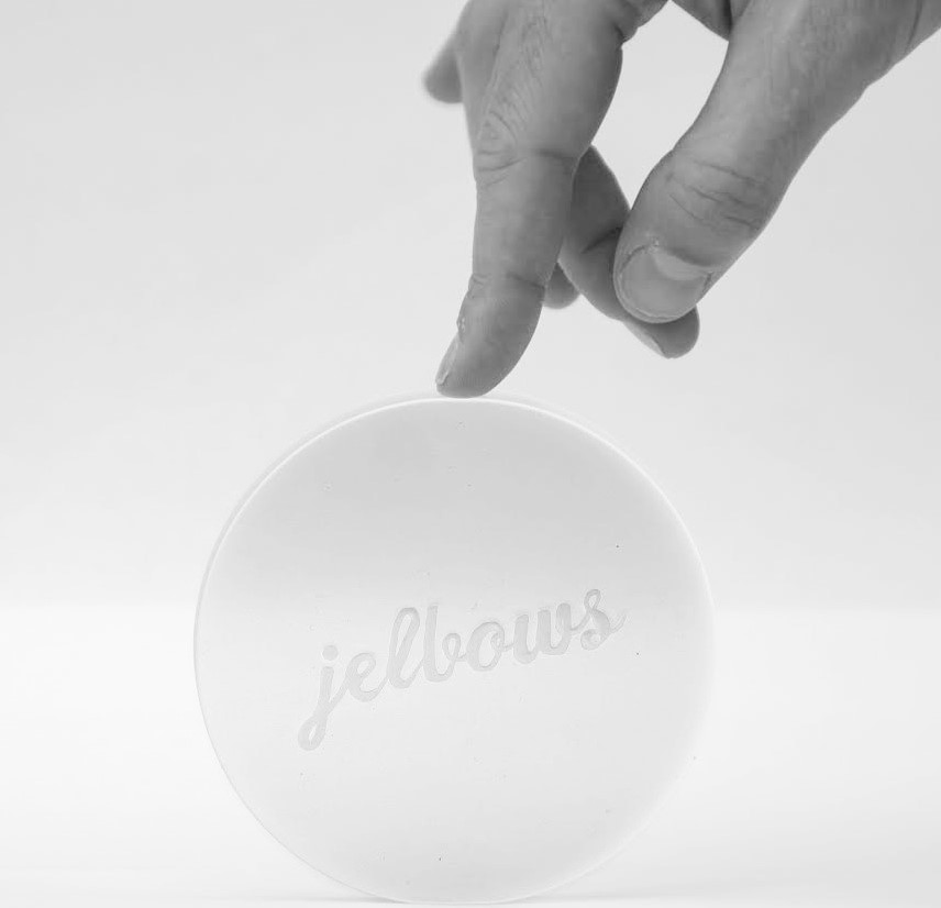 Jelbows Ergonomic Gel Wrist Elbow Pad